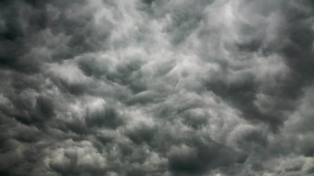 Dramatic Storm Dark Clouds