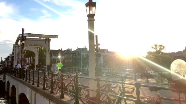 Zugbrücke in Amsterdam