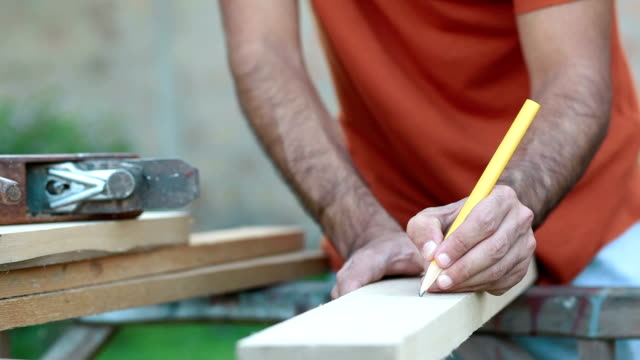 Drawing and preparing wooden board