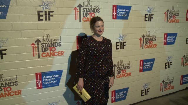 Drew Barrymore at Hollywood Stands Up To Cancer on in Los Angeles California