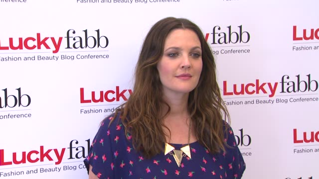 Drew Barrymore at Lucky Magazine Hosts FirstEver Two Day FABB West on 4/4/13 in Los Angeles CA