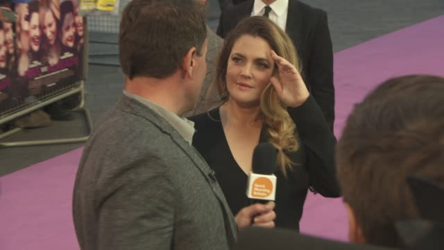 Drew Barrymore at 'Miss You Already' UK Film Premiere on September 17 2015 in London England