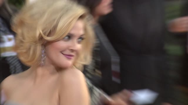 Drew Barrymore at the 66th Annual Golden Globe Awards Arrivals Part 6 at Los Angeles CA