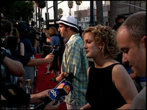 Drew Barrymore at the 'Ever After' Premiere at Academy Theater in Beverly Hills California on July 29 1998