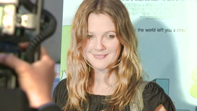 Drew Barrymore at the 'Year of the Dog' Premiere at Paramount Theatre in Los Angeles California on April 5 2007