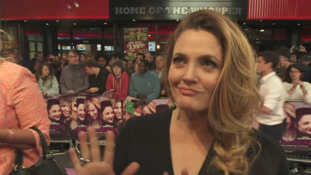 INTERVIEW Drew Barrymore on being a mother and working in Hollywood the opportunities she's worked hard for at 'Miss You Already' UK Film Premiere on...