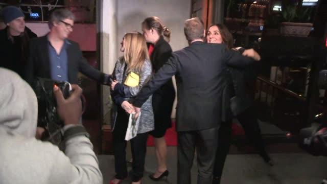 Drew Barrymore on dinner date with Will Kopelman departing Madeo Celebrity Sightings in Los Angeles on in Los Angeles California