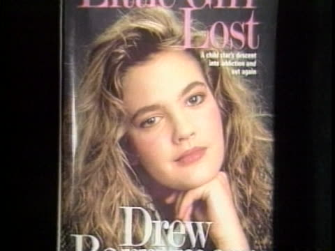 Drew Barrymore Talks About Recovering From Her Drug Addictions in Her Book Titled 'Little Girl Lost' on in New York City