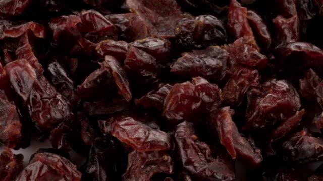 Dried Blueberries - 4K video