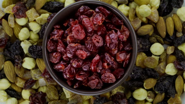 Dried Blueberries - Loopable 4K video
