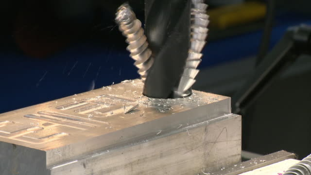 Drill a hole at the steel