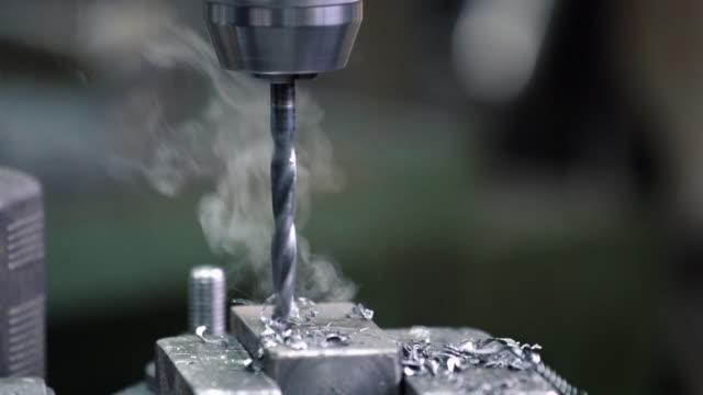 Drilling metal 4k.