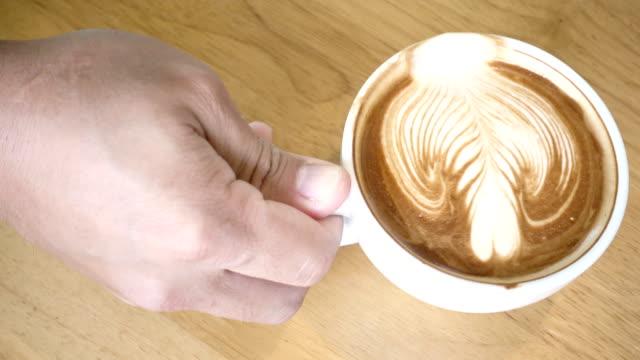 Trinken Kaffee 4K.