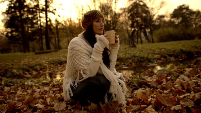 Drinking Tea Outdoors