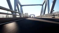 Drive on Tokyo Gate Bridge