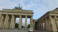 Drive through Brandenburg Gate