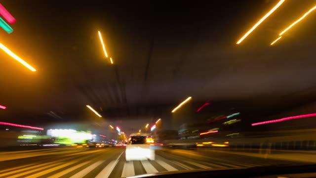 T/L, Driveing at night.
