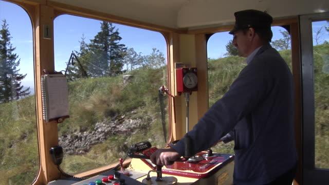 Driver of a Vitznau Rigi Train