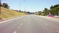 drivers POV - part-12: suburban city highway in Cape Town