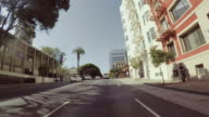 Fahren eines Autos POV: in San Francisco