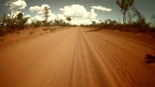 NTSC TIME LAPSE: Driving Across The Australian Outback