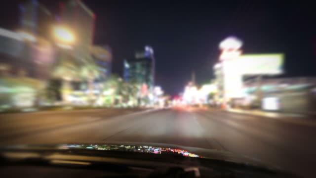 Guida lungo la Strip di Las Vegas