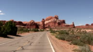 HD: Driving in Arches national park