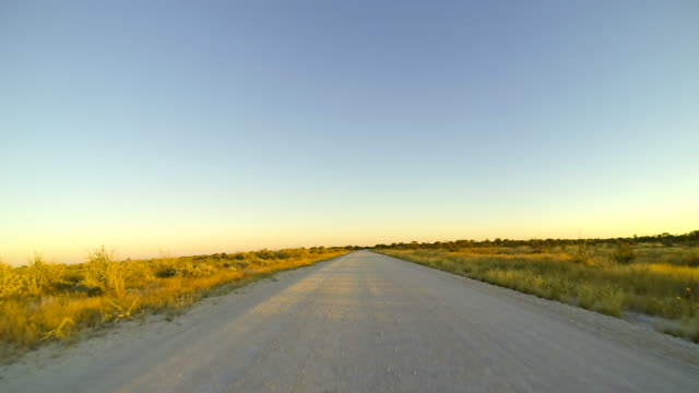 T/L POV Driving In Namibia