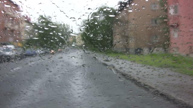 Fahren im Regen