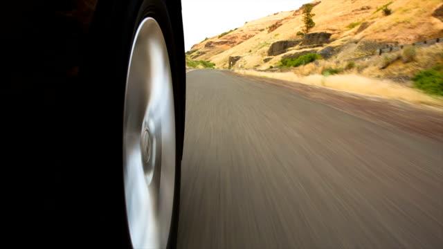 Low angle-Aufnahme fahren