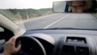Meilen von zu Hause aus fahren