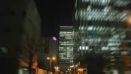Driving night Yokohama, Japan