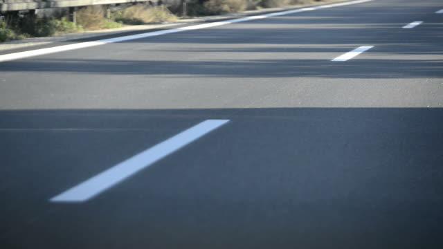 Driving on a Highway, Asphalt, HD