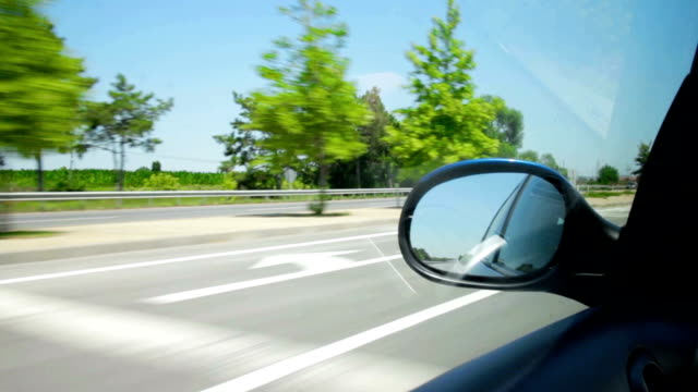 Driving on highway