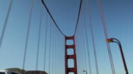 Driving on the Golden Gate Bridge