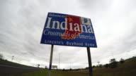 Driving through Indianapolis