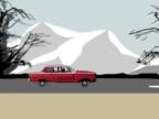 Driving through winter NTSC