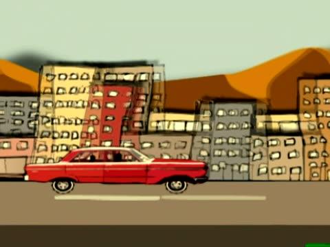 Driving thru the city NTSC