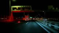 Driving to Yokohama City