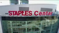 KTLA Drone POV Staples Center