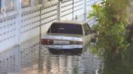 Drowning car.