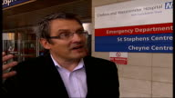 crystal meth London Chelsea and Westminster Hospital EXT Dr Mark Nelson interview SOT