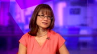 Drug resistant diseases 'superbugs' resulting from antibiotics overuse ENGLAND London GIR INT Dr Louise Leong LIVE studio interview SOT