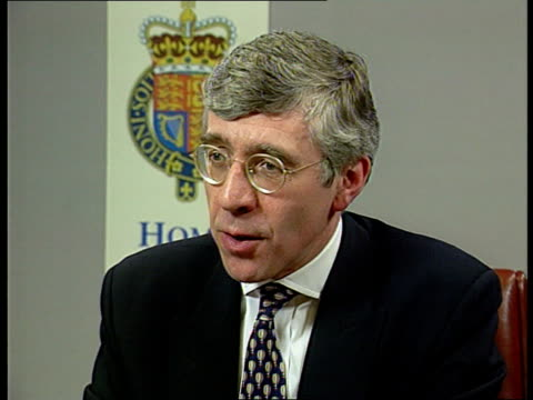 Cabinet Minister's Son ENGLAND London Home Office Jack Straw MP intvw SOF This reinforces my view against legalisation of soft drugs/ I've been at...