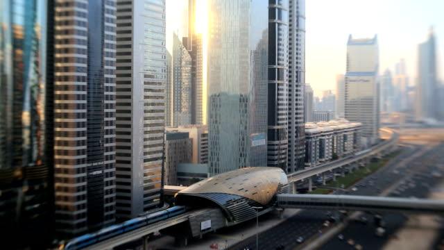Dubai Sheikh Zayed Road skyline skyscraper Lens baby
