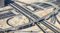 Dubai - traffic from above