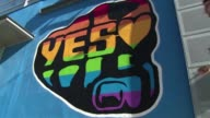 Dublin is awash with campaign posters banners and murals urging people to vote 'Yes' or 'No' as Ireland gets ready to hold the world's first...