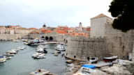 Dubrovnik old town cityscape