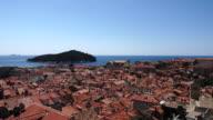 Altstadt von Dubrovnik in Kroatien - Stock video