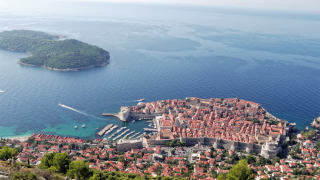 Dubrovnik timelapse HD video. Croatia